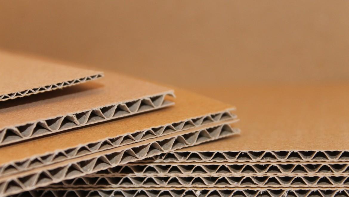 Gofruotojo kartono lakštai