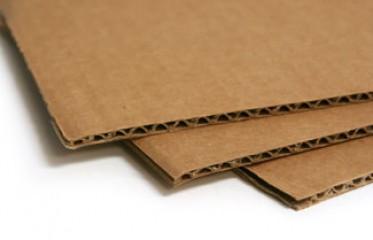 3-layer corrugated cardboard